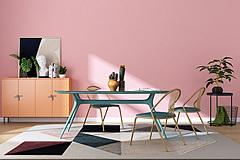 北欧餐厅餐桌餐椅组合3D模型