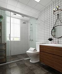 現代衛浴空間3D模型