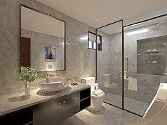 中式廁所3D模型