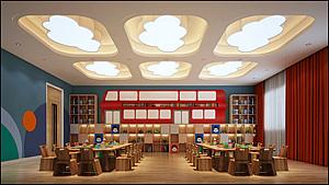 幼兒園3d模型