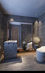 新中式卫生间3D模型
