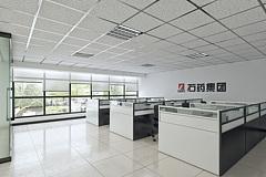 现代简约员工办公区3D模型