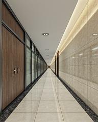 现代简约走廊过道3D模型