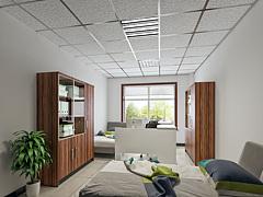 现代简约办公室财务室3D模型