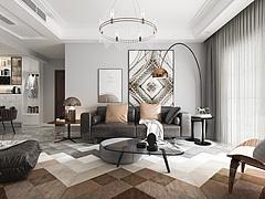 新古典客厅3D模型