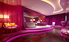 现代套房酒店客房主题套房3D模型