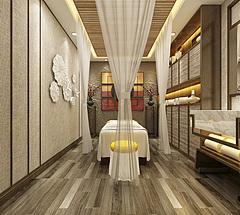 美容館spa養生3D模型