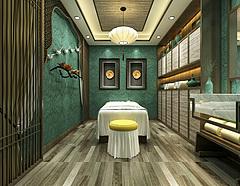 美容館spa會所養生會所3D模型