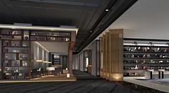 會客廳接待室恰談室3D模型