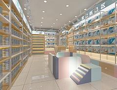 母婴店3D模型