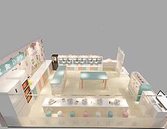 兒童烘焙店3D模型