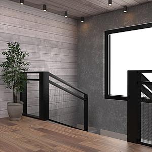 楼梯口整体模型
