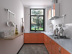 廚房3D模型