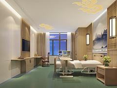 中式病房3D模型