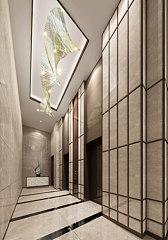 走廊過道3D模型