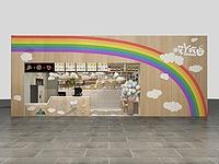 小吃店3d模型