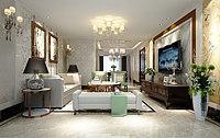 后现代的客厅3d模型