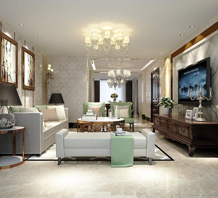 后现代的客厅