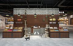 零食店3D模型