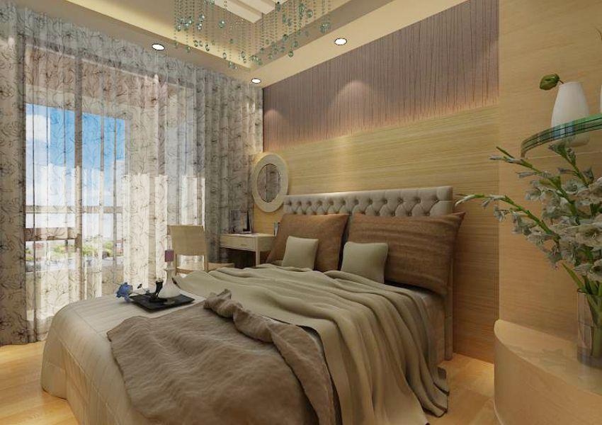 现代卧室加小孩房榻榻米-3d模型设计大赛-3d学苑3dxy.