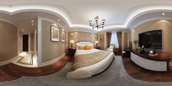 卧室全景模型