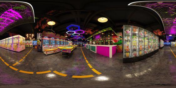 游戏厅全景模型