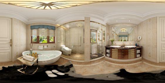 欧式卫浴全景模型