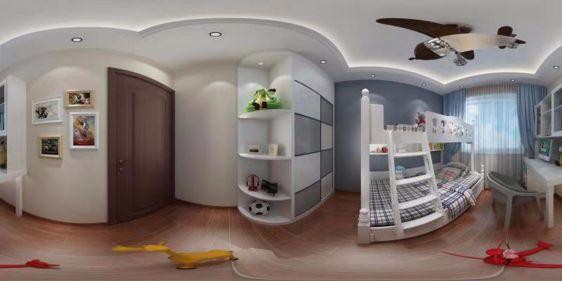 儿童房全景模型