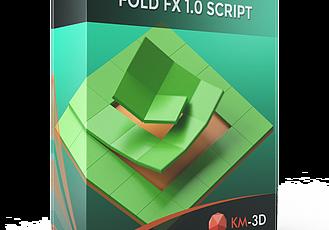 FoldFX v1.0插件3DS MAX多邊形物體三維翻轉折疊動畫工具