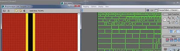PolyUnwrapper v4.3.3 3ds Max插件UV貼圖修改工具