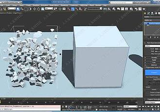 3ds Max破碎爆炸插件 RayFire v1.64 for 3ds Max 2009-2014 – Win