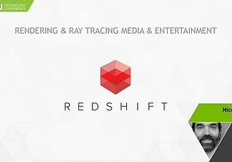 Redshift渲染器单显示器布局C4D文件 Redshift One-Screen Layout (Cinema 4D)