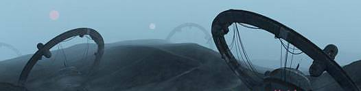 科幻荒蕪之地C4D場景工程文件 Gumroad – No Signal Wasteland scene