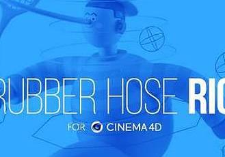 柔軟風格人物角色C4D綁定插件 Eyedesyn – Bendy Limbs Rig for Cinema 4D R17-R21 Win/Mac