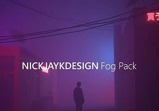 霧天場景C4D工程預設 Gumroad – Fog Preset Pack – For Octane in Cinema 4D