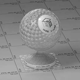 半透明塑料Vary材质球球