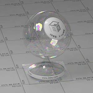 肥皂泡Vary材質球