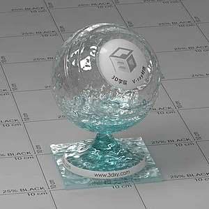 泳池水Vary材質球