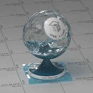 浴缸水Vary材質球