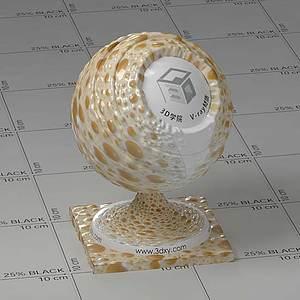 咖啡Vary材質球