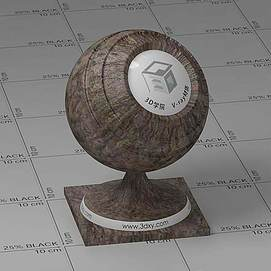 树干Vary材质球
