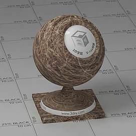 枯草Vary材质球