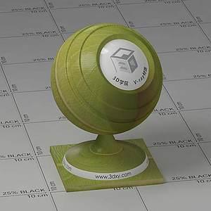 绿色树叶Vary材质球