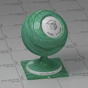 暗绿色荷叶Vary材质球