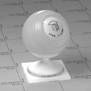 白色透明塑料Vary材質球球