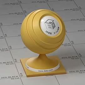 黄色皮肤Vary材质球球