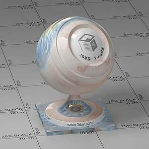 眼睛Vary材質球球