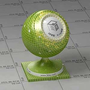 蛇皮Vary材質球球