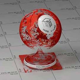 血液Vary材质球球