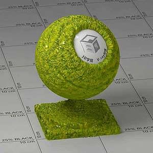 動物皮Vary材質球球